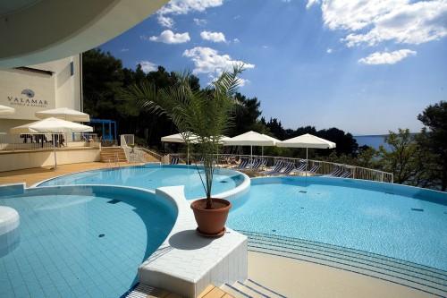 Valamar Hotel an der Küste Adrias . Foto: Valamar Hotels & Resorts