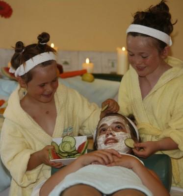 Beautybehandlung mal anders. Foto: Sporthotel Achensee / Stromberger PR
