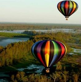 Heissluftballon-Orlando