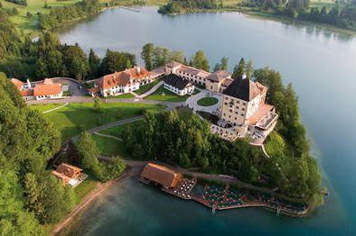 Schloss-Fuschl-Luftbild