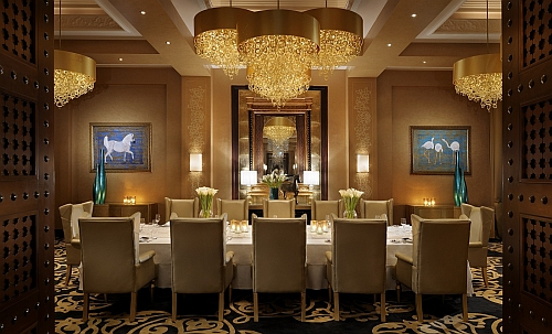 "Der Private Dining Room im ""Celebrities""  Copyright: One&Only Rojal Mirage Dubai"