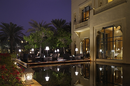 "Terrasse des ""Celebrities"" Copyright: One&Only Rojal Mirage Dubai"