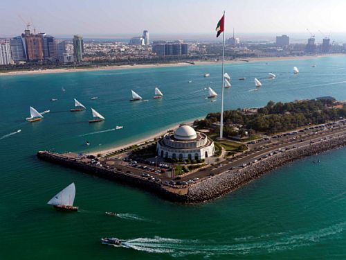 Abu Dhabi Perlentaucher