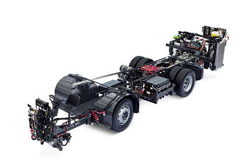 Volvo-Busgestell