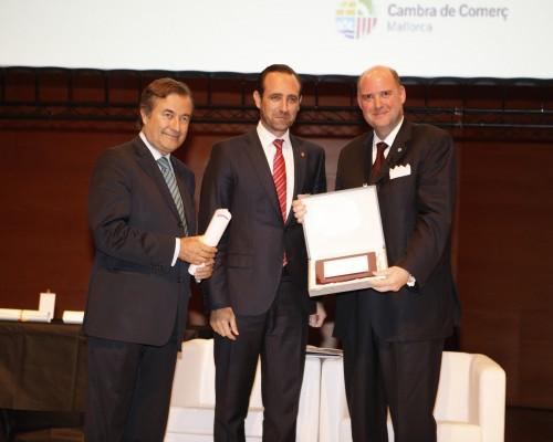AIDA Cruises erhält Award der Handelskammer Mallorca ©AIDA CRUISES