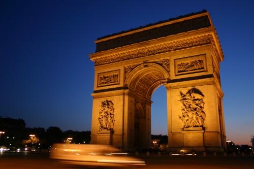 Arc De Triomphe, Paris France © Pete Hoffmann - Fotolia