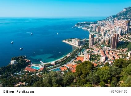 In Monaco können Sie gut essen, trinken, die Sonne genießen und auch im Casino spielen. Wir zeigen Ihnen die besten Ziele. Foto: fotolia #57084150 (c) Elnur
