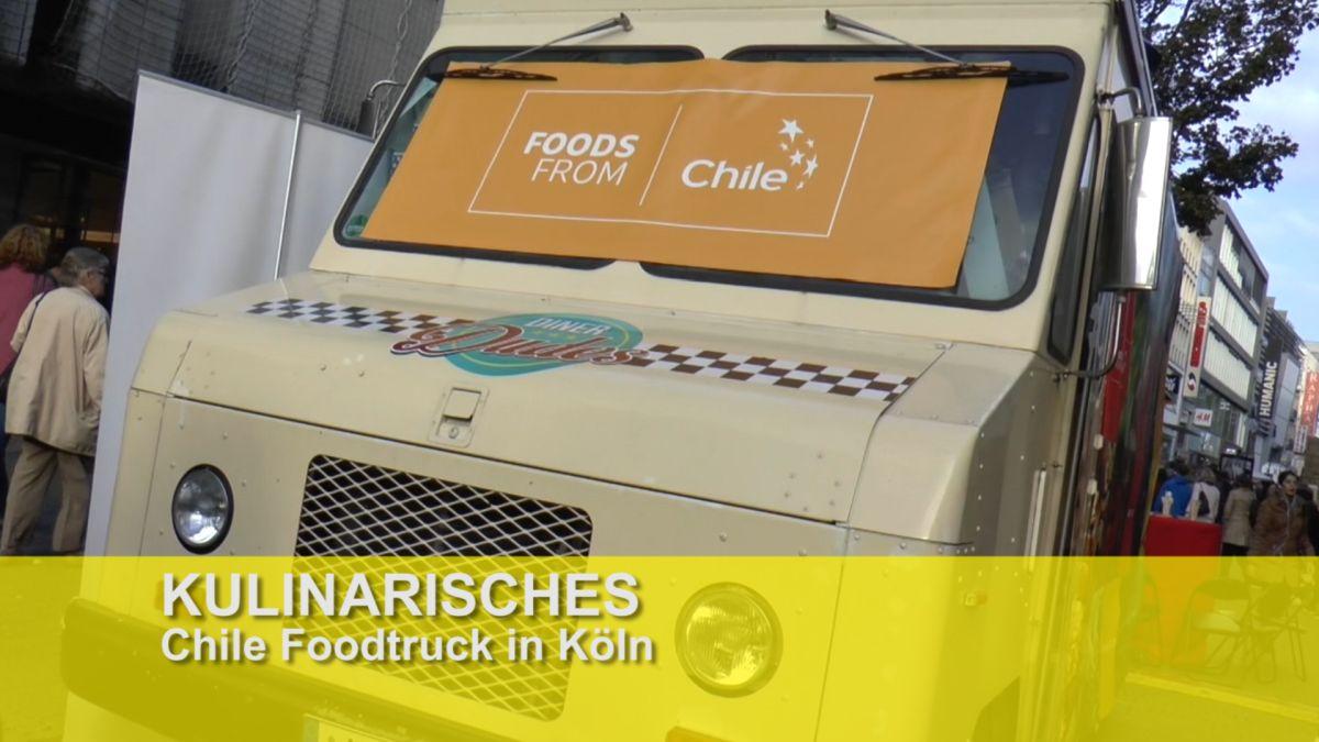 chilenische k che in k ln foodtruck on the road tv touristiknews und. Black Bedroom Furniture Sets. Home Design Ideas