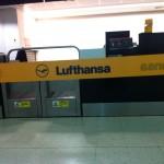 Lufthansa Schalter in London