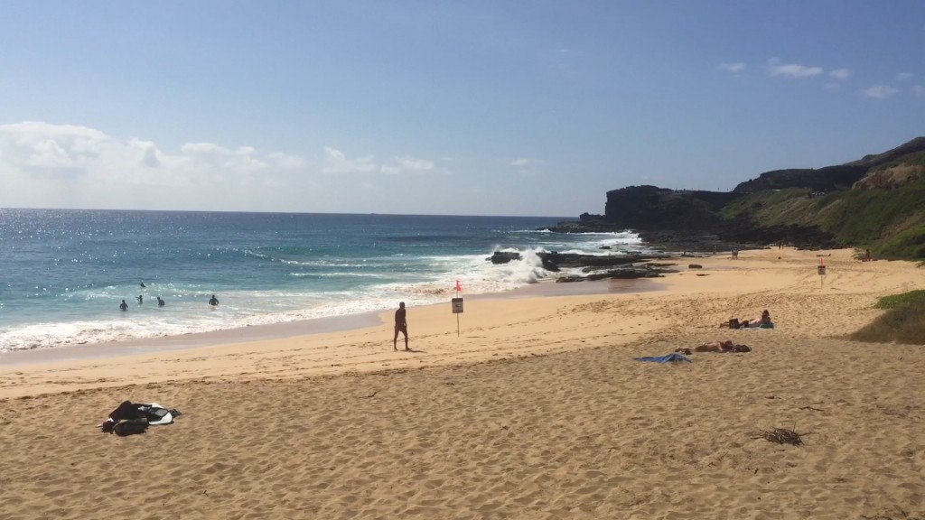 hawaii s sch nste str nde sandy beach tv travelnews24. Black Bedroom Furniture Sets. Home Design Ideas