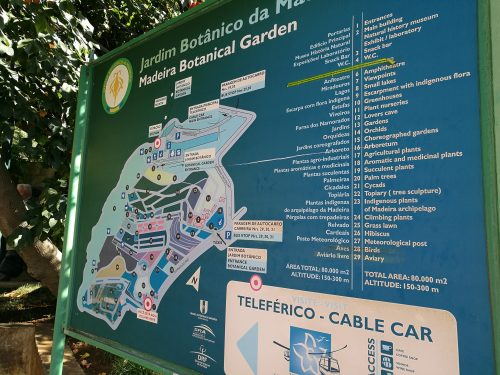Parkübersicht des Botanischen garten in Funchal / Madeira - Foto: Flying Media